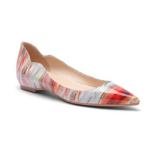 Pauline 2000 - Colorful Flatbed Women's Shoes