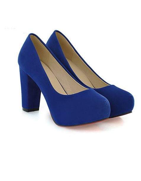 Abingdon Square Pumps Platform Heels