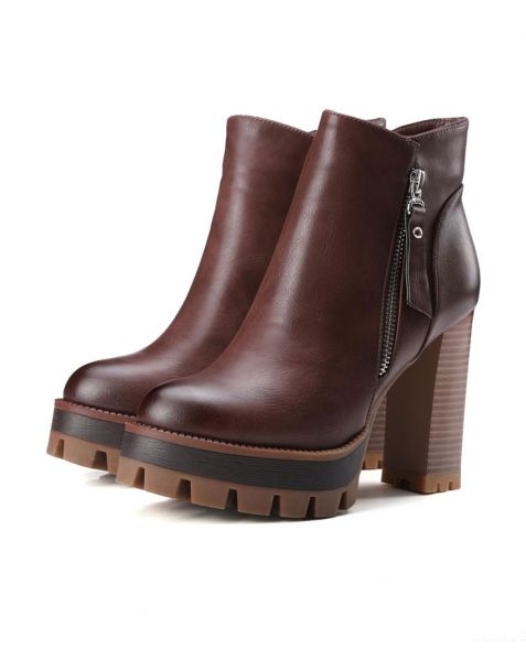 Goujon - Sexy Platform Ankle Boots