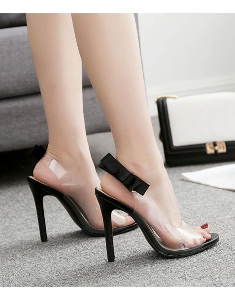 Cerise - Sexy Slingback Fashion High Heels Sandals