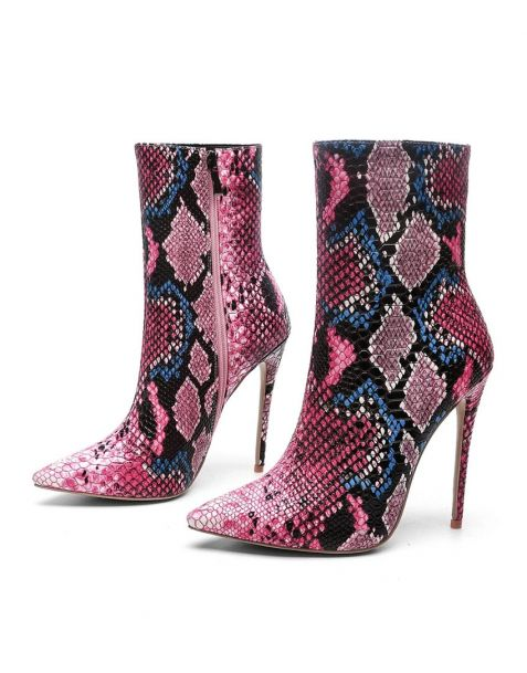 Plaisirs - Sexy Fashion Women's Ankle Boots