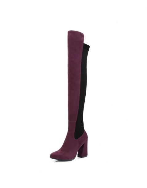 Coquillage - Fashion Knee High Women's Boots