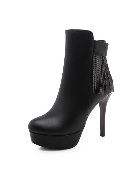 Fort Charles Avenue - Sexy Fashion Platform Women's Ankle Boots