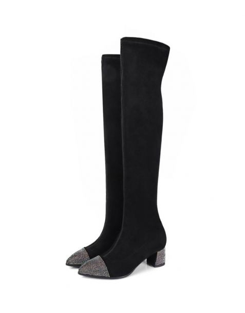Ellwood Avenue - Sexy Fashion Knee High Women's Boots