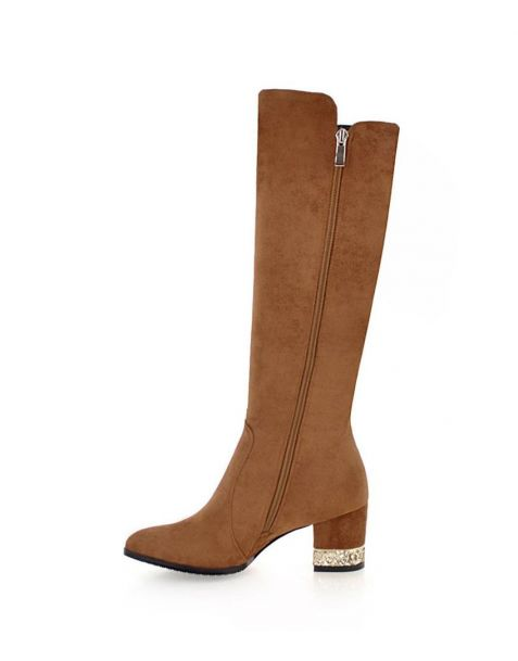Betina - Faux Fashion Knee High Women's Boots