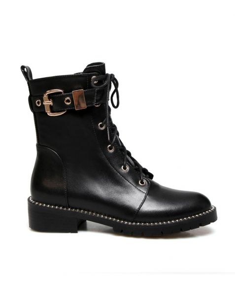 Corinne - Leather Fashion Women's Ankle Boots