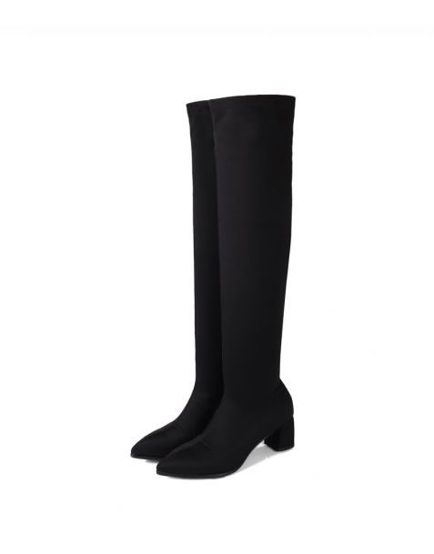 Claudie - Leather Fashion Knee High Women's Boots