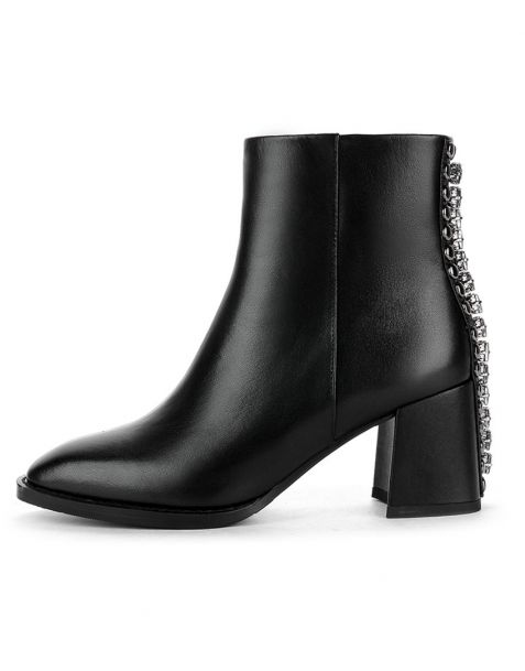 Cat - Leather Sexy Fashion Women's Ankle Boots