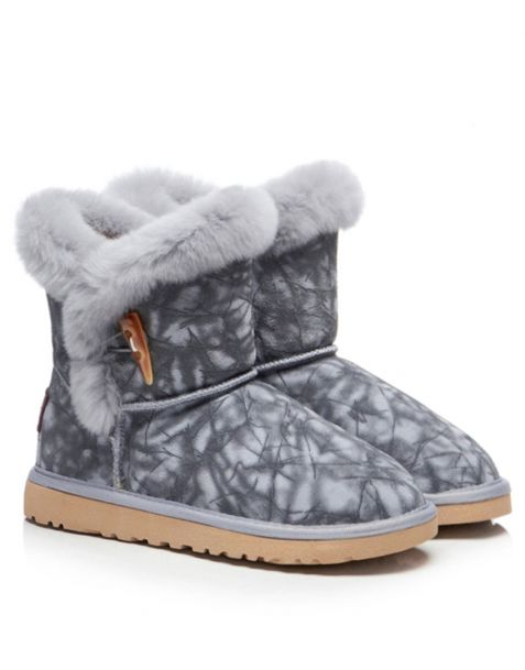 Clared - Fur Winter Fashion Women's Ankle Boots