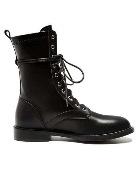 Blemerlyn - Black Winter Fashion Women's Ankle Boots
