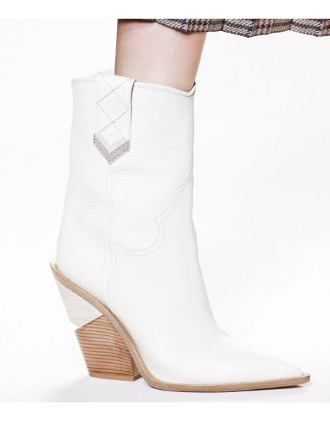 Charllotte - Winter Fashion Calf Length Boots