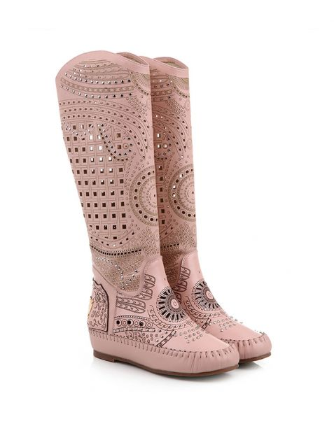 Collister Blvd - Women's Flat Knee High Boots
