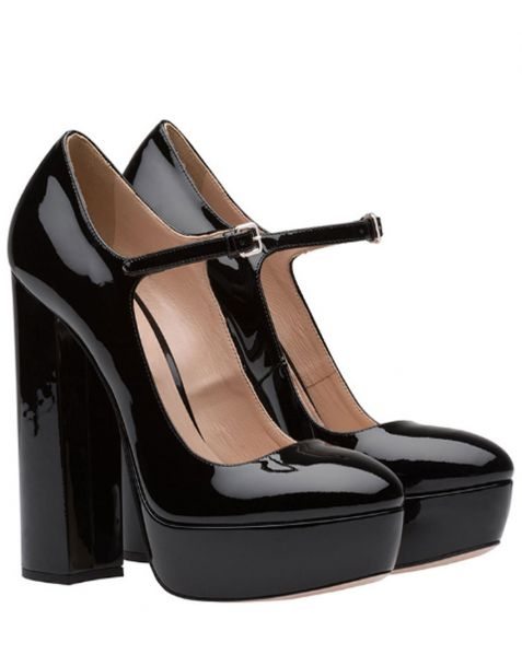 Elkhart - Platform High Heels Pumps