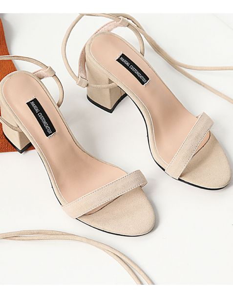 Janice - Fashion Cross Strap High Heels Sandals