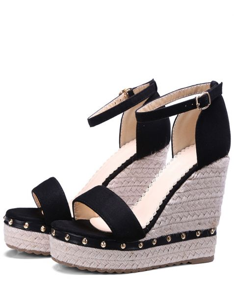 San Leandro - Fashion Women's Ankle Strap Wedge