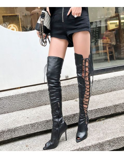 L'avenue - Sexy Fashion Knee High Women's Boots