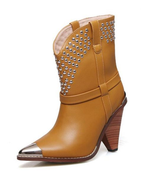 Hudson Avenue - Sexy Fashion Women's Ankle Boots