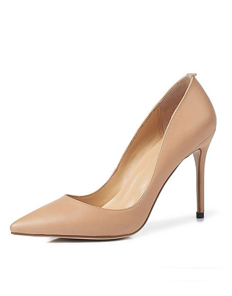 Effingham - Leather Pumps Stilettos High Heels Sandals