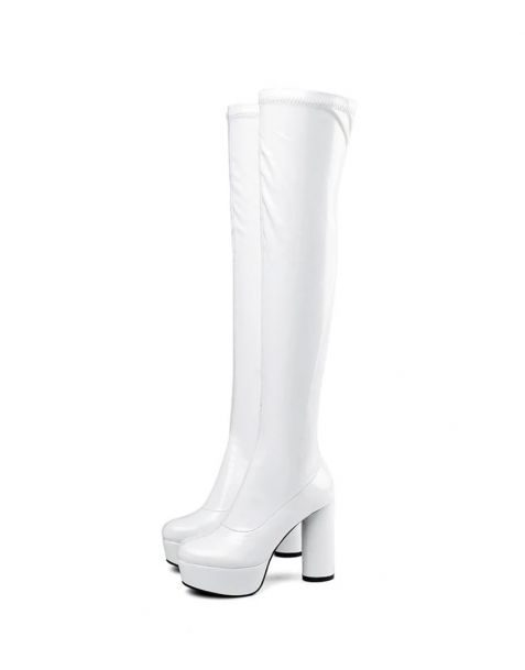 Ellwood Collection - Sexy Fashion Platform Knee High Women's Boots