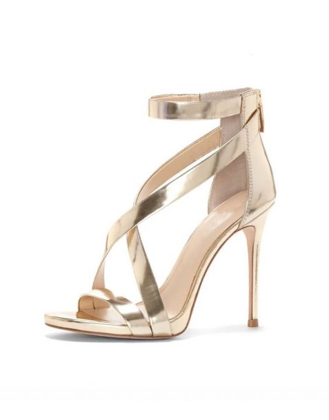 Camellia Stilettos Ankle Strap High Heels Sandals