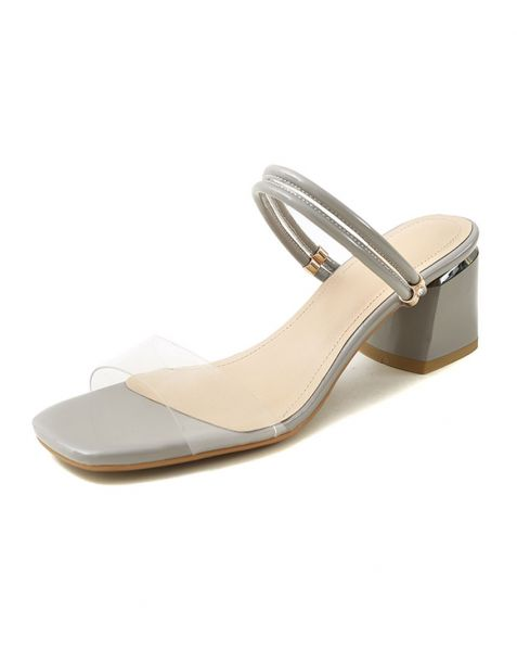 Dodge City - Ankle Strap Women's Low Heels Sandals