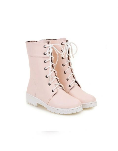Loretta - Winter Lace Up Women's Ankle Boots