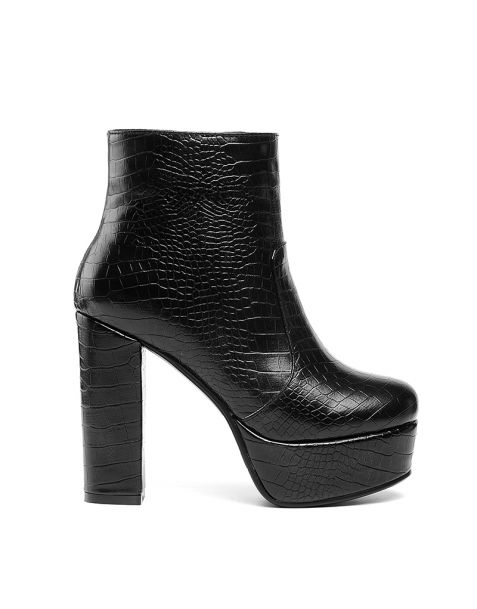 Largo Turati Sexy Winter Platform Ankle Boots