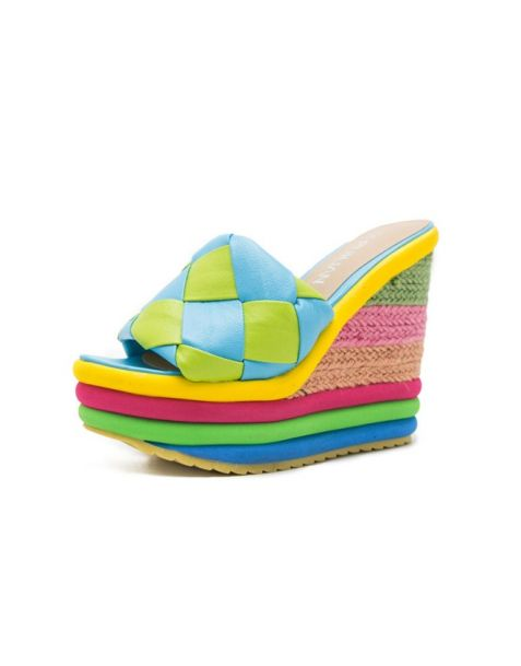 Rabiya - Summer Open Toe Women's Wedge Heels Sandals