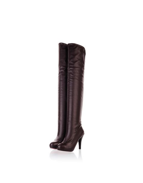 Clemenceau - Fashion Knee High Boots