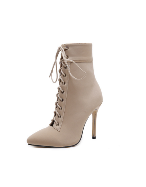 Catriona - Lace Up Sexy Fashion Ankle Boots