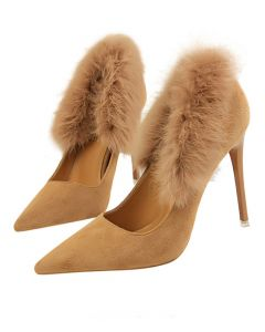 Gervais - Suede Pumps High Heels