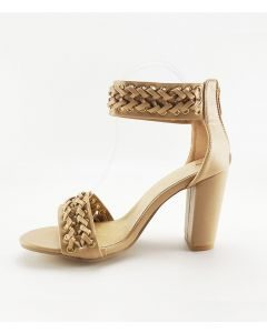Daffodil Light - Sexy Fashion Ankle Strap High Heels Sandals