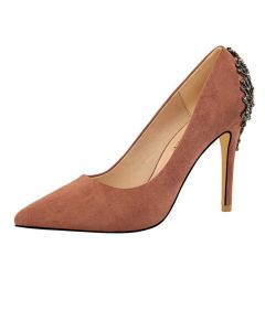 Eighty Sixth Avenue - Suede Stilettos High Heels Pumps