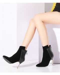 Bradhurst Ave - Winter Fashion Women's Ankle Boots
