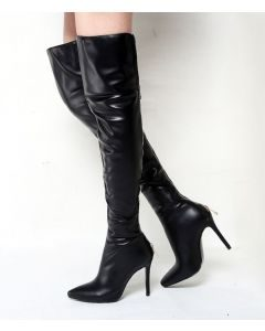 Raspail - Black Sexy Fashion Women's Knee High Boots