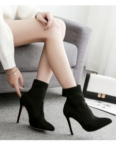 Cortlandt Alley - Suede Sexy Fashion Women's Ankle Boots