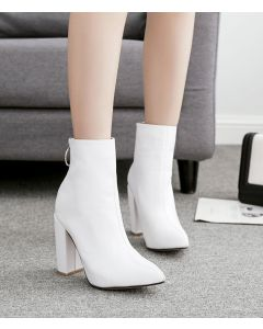 Crosby Ave - Sexy Suede Women's Ankle Boots