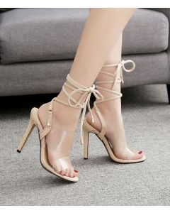 Clarkson - Ankle Strap Stilettos High Heels Sandals