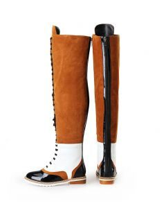 Centre Market Palace - Black Winter Fashion Knee High Women's Boots