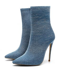 Pastèque - Light Blue Sexy Fashion Women's Ankle Boots