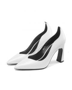 East Haven - Leather Women's High Heels Pumps