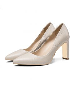 Grand Junction - Leather Fashion High Heels Pumps