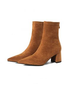 Greenwich Collection - Suede Sexy Fashion Women's Ankle Boots