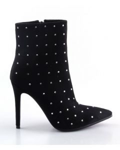 Freddy Dough - Black Sexy Fashion Women's Ankle Boots