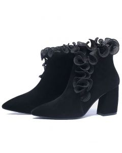 Fort Washington Avenue - Sexy Fashion Women's Ankle Boots