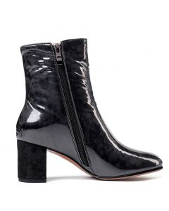 Broadway Boulevard - Leather Winter Fashion Women's Ankle Boots
