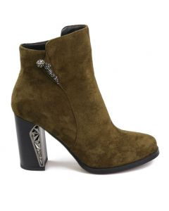 Extraordinaire - Faux Suede Sexy Fashion Women's Ankle Boots