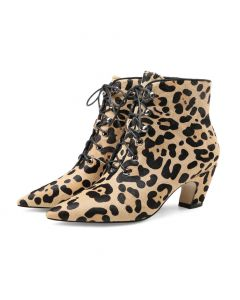 Doyers Avenue - Leopard Sexy Fashion Women's Ankle Boots