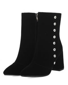 Couleur - Black Sexy Fashion Women's Ankle Boots