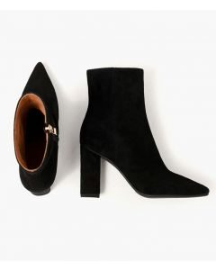 Beaucoup - Leather Suede Sexy Fashion Ankle Boots